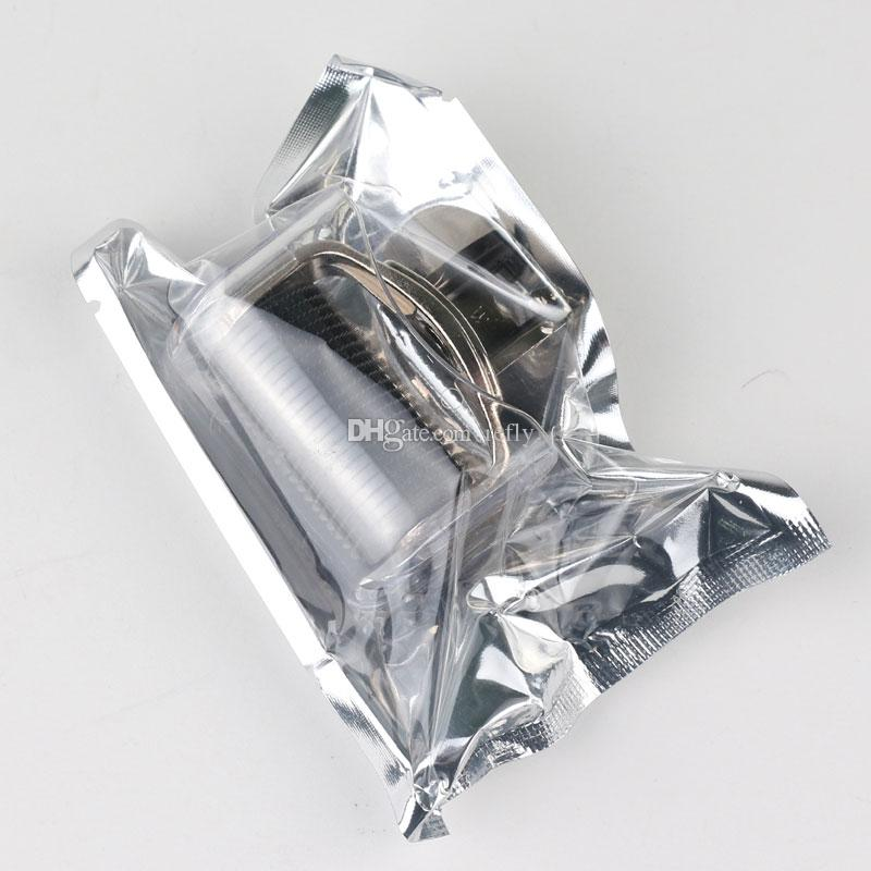 3 в 1 системе Подмолаживания кожи ролика Derma микро-игла ролика 180C 600C 1200C иглы стороны кожи тела DermaRoller