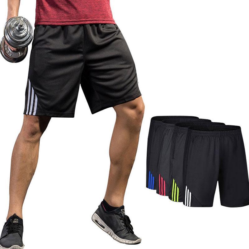 7cf91ea9c2 Acheter Workout Shorts De Sport Pour Hommes Shorts De Basket Ball Gym Short  De Course, Vêtements De Sport Pour Hommes Dry Fit Loose And Respirant  Athletic ...