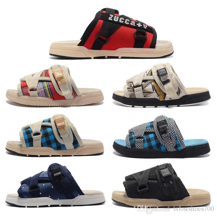 b7d29f8ed3aa Compre Brand New Chinelos Moda Sapatos Homem E As Mulheres Amantes Sapatos  Casuais Chinelos Sandálias De Praia Ao Ar Livre Chinelos Hip Hop Sandálias  De Rua ...