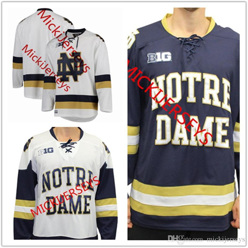 25d915ae75a Großhandel Mens NCAA Notre Dame Fighting Irish College Hockey ...