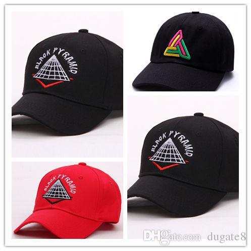 Compre Envío Gratis Nuevo Estilo Hombres Ajustables Sombreros Hip Hop  Unisex Pirámide Gorras De Béisbol Casual Negro Blanco Rojo Diamante  Sombrero A  6.54 ... bf15b35eea3