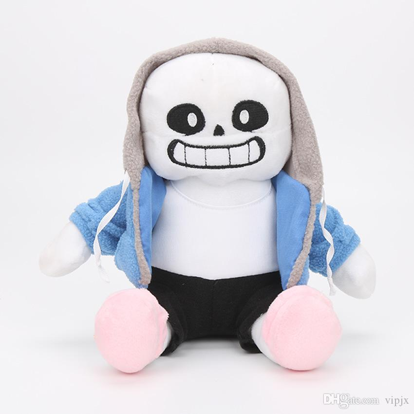 25cm Undertale Sans Plush Stuffed Doll Toy Pillow Hugger Cushion Cosplay Toy Gift