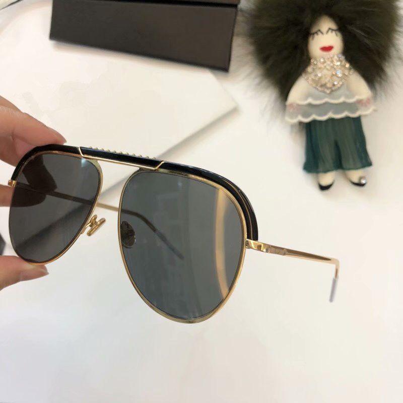 9f0ecd1bdc6 Luxury Fashion Sunglasses Summer Style Coating Mirror Lens Women Sunglasses  UV Protection Italian Designer Fashion Oval Designer Come With B Cheap ...