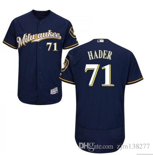 865cb4171 2019 Milwaukee Brewers  71 Josh Hader Lorenzo Cain Jerseys From Zjm138277