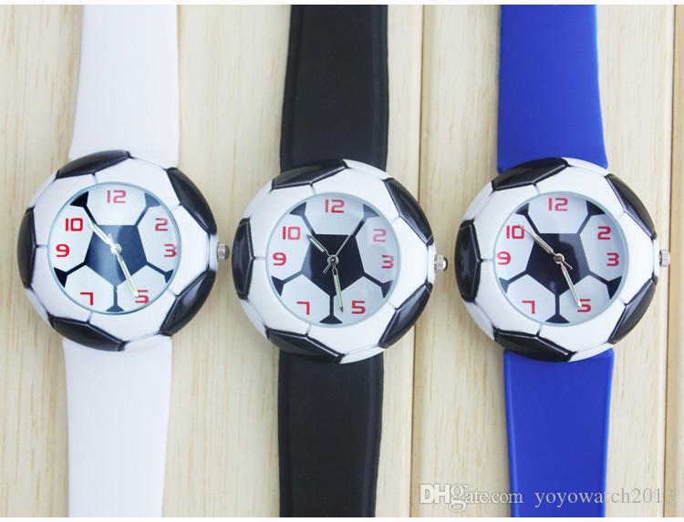 Waterproof Kid Watches Children Silicone Wristwatches Football Brand Quartz Wrist Watch Baby For Boys Fashion Casual Relogio Watches