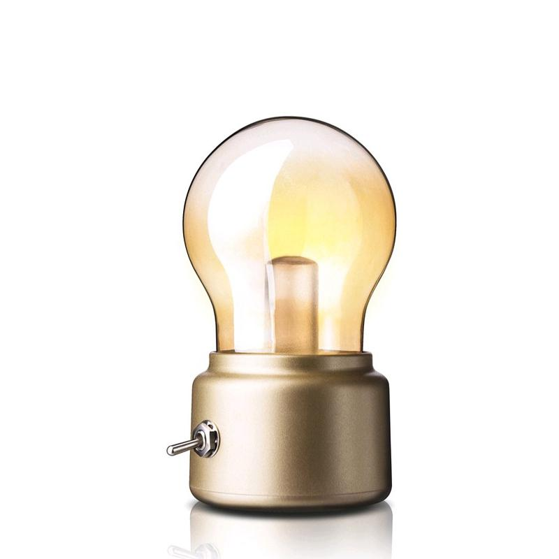 2019 New Production Light Bulb Bright Led Rechargeable Night Light