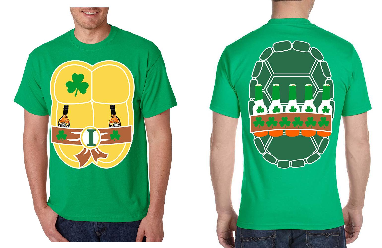 bad007bedc8 NEW Men S T Irish Ninja St Patrick S Day Cool Party Tee Shirt Funny ...