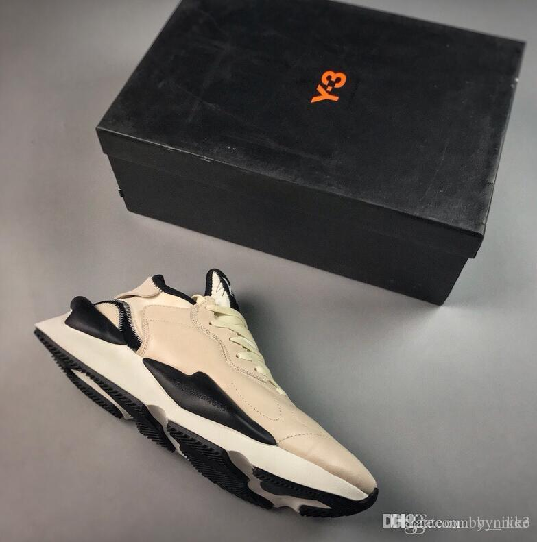 29b3459f639ef Y 3 BYW Harden BBall Black White Harden High Street Fashion Show Shoes  B43876 Y3 Trend Popcorn Casual Men S Shoes 38 45 Buy Shoes Online Slip On Shoes  From ...