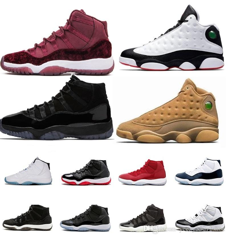 free shipping 4782e 57dd1 New 2018 11 Gym Red Cool Grey Concord Cap He Got Game Space Jam 45 72-10  Mens low Basketball Shoes 11s Sport Sneakers
