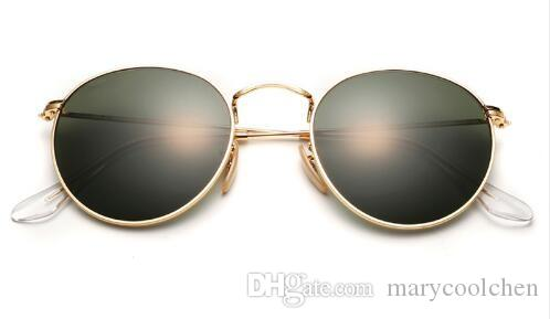 2a561d4c086 Designer Mens And Womens Round Mirror UV Protection Lens Eyewear ...