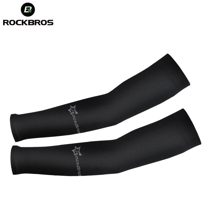 Men's Arm Warmers Arm Warmers Running Arm Sleeves Basketball Elbow Pad Fitness Armguards Breathable Quick Dry Uv Protection Sports Cycling Products Are Sold Without Limitations Men's Accessories