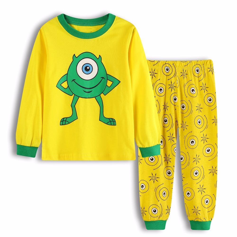 High Quality Autumn Baby Girls Pajamas Sets Sports Suit Long Sleeve ... 5036b453e