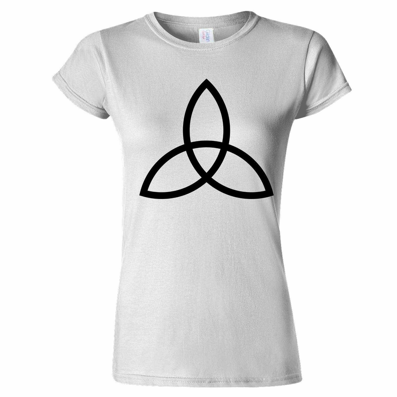 CELTIC TRIAD SYMBOL WOMENS T SHIRT RELIGION TRIQUETRA PAGAN SPANISH FAITH  EIRIDO Designs Shirts Interesting T Shirt Designs From Bangtidyclothing 4366113d64