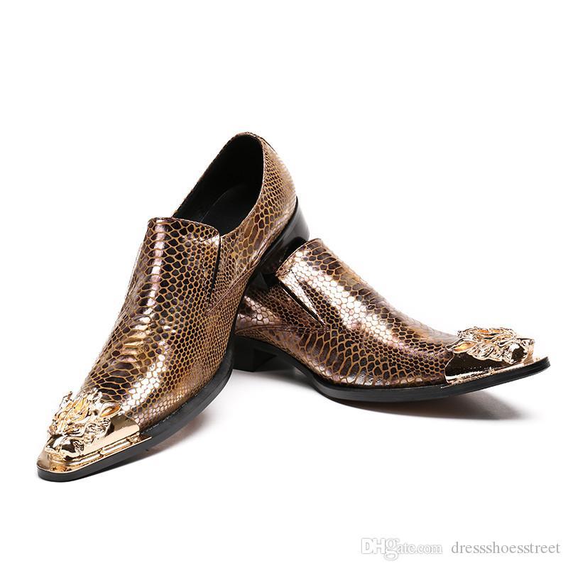 Sosyal masculino erkek sivri burun elbise ayakkabı python cilt erkekler için hakiki deri oxford ayakkabı balo ayakkabı
