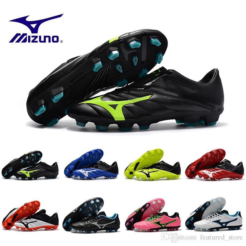 d5936c32399 2019 New Arrival Mizuno Rebula V1 Mens Football Boots Soccer Shoes Cleats  BASARA AS WID Hot Predator Outdoor Futsal Sports Sneakers Shoes 40 45 From  ...