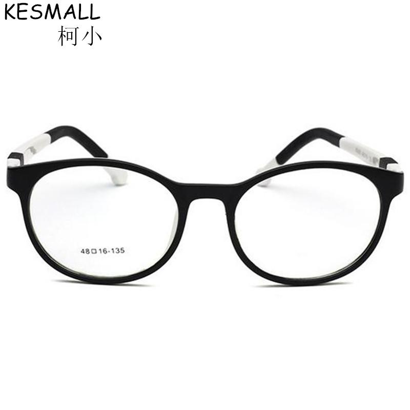 2236af394f 2019 KESMALL 2017 Myopia Glasses Frame Boys Girls TR90 Ulitralight Eyeglasses  Frames Vintage Eyewear Frame Children Oculos BY353 From Newcollection