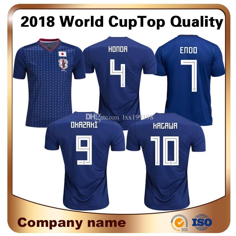 2019 Maillot De Foot Sale 2018 World Cup Japan Soccer Jersey Home 4 For  Honda 9 Okazaki 10 Kagawa Shirts National Team Custom Football Uniform From  ... aefa582c1