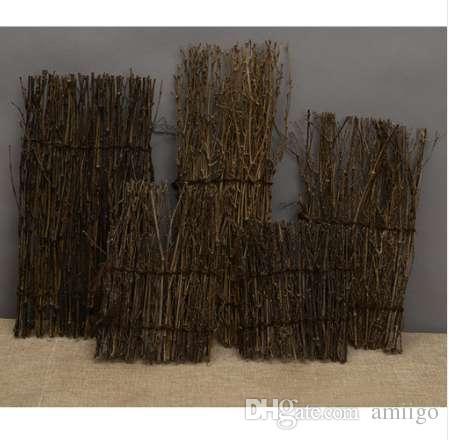 2018 Natural Garden Fence Screen Divider Border Bamboo Slat Reed Brushwood  Roll 27x11cm Miniature Home Garden Bonsai Decor From Amiigo, $16.59 |  Dhgate.Com