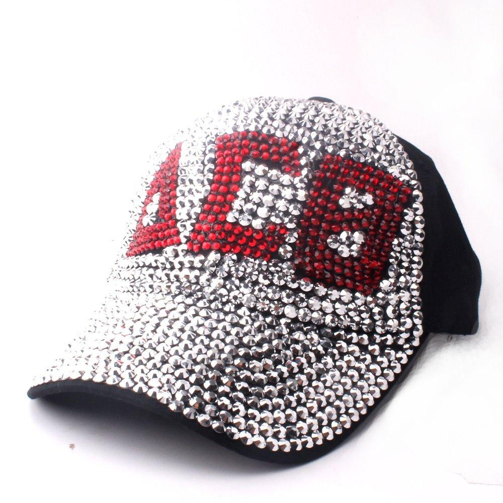 New Bling Bling Cap For Ladies Girls Sequin Shiny Basebal Cap 100% Cotton  High Quality Fashion Street Hat Popular Women Caps Cool Caps Flat Brim Hats  From ... caa2ddd198cf