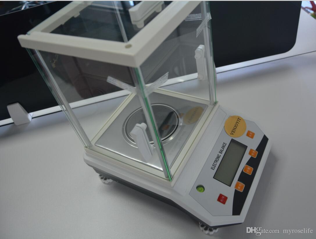 100 x 0,001g 1mg Lab Analytical Balance Digital Präzision Elektronische Waage CE Zertifikat 220 V