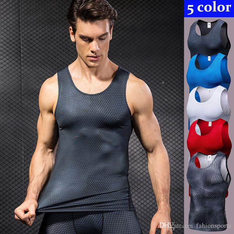 e6b39d131ba207 3D Sleeveless Sport Shirt Men Quick Dry Men s Running Vest Snake Gym ...
