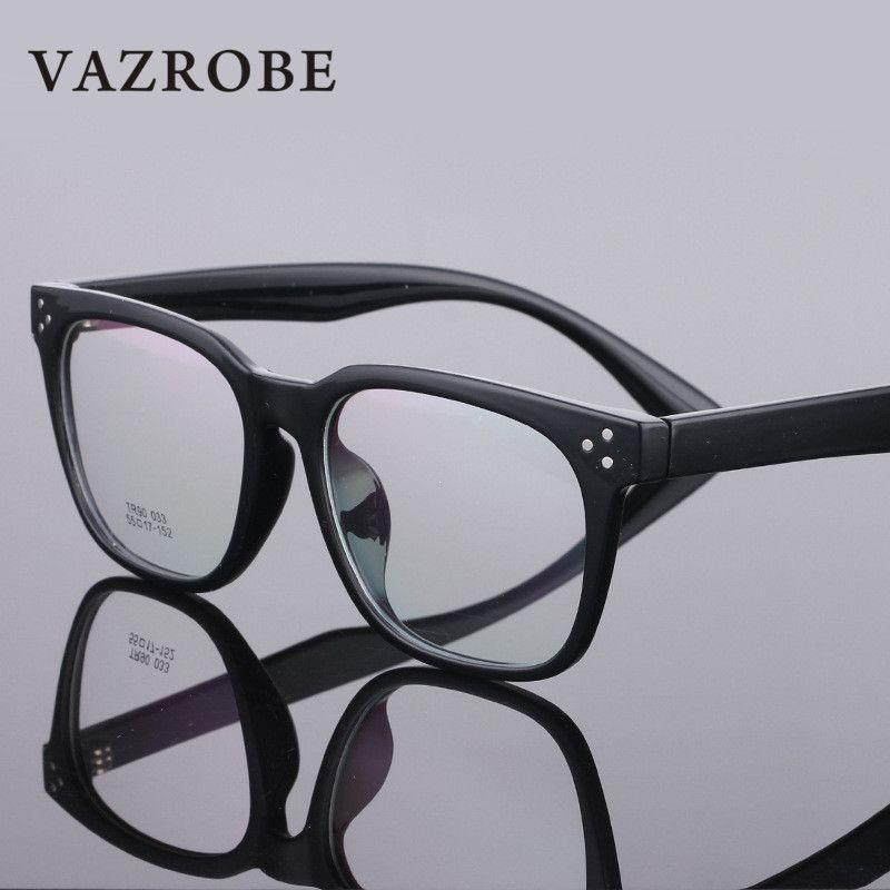Vazrobe Wholesale / Square Glasses Frame Men Women TR90 Eyeglasses ...