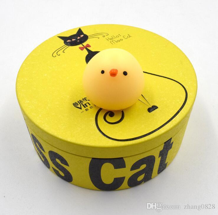 Squishy Slow Rising Jumbo Toy Bun Toys Animals Cute Kawaii Squeeze Cartoon Toys Mini Squishies Cat Squishiy Fashion Rare Animal Gifts Charms