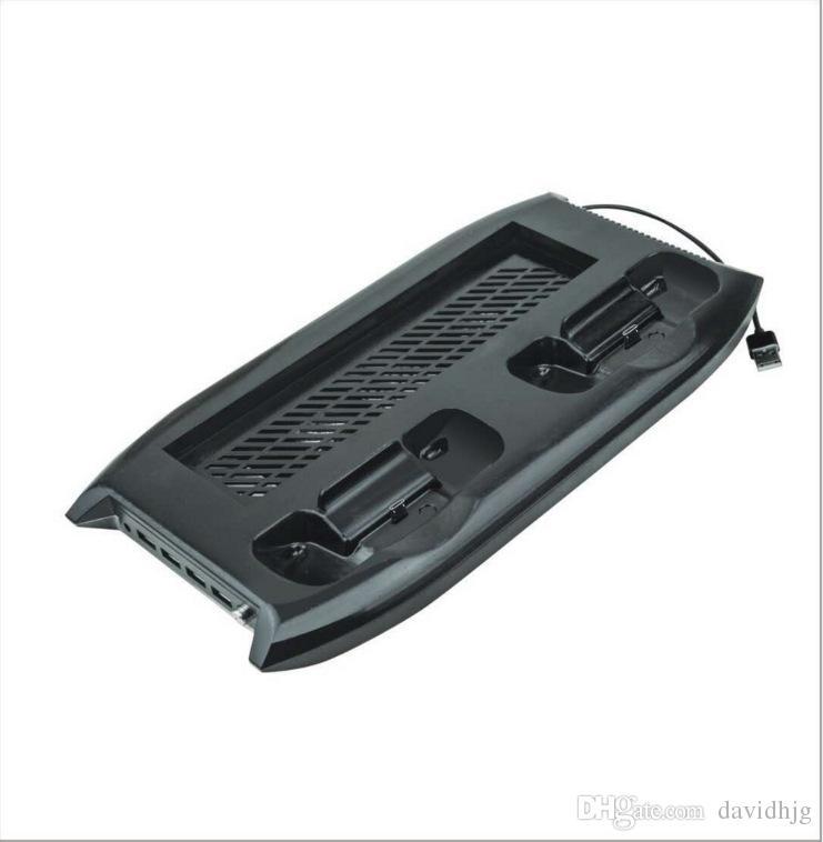 Para xbox one controladores de console x onex vertical stand cooler cooler cooler carregador estação de carregamento dock