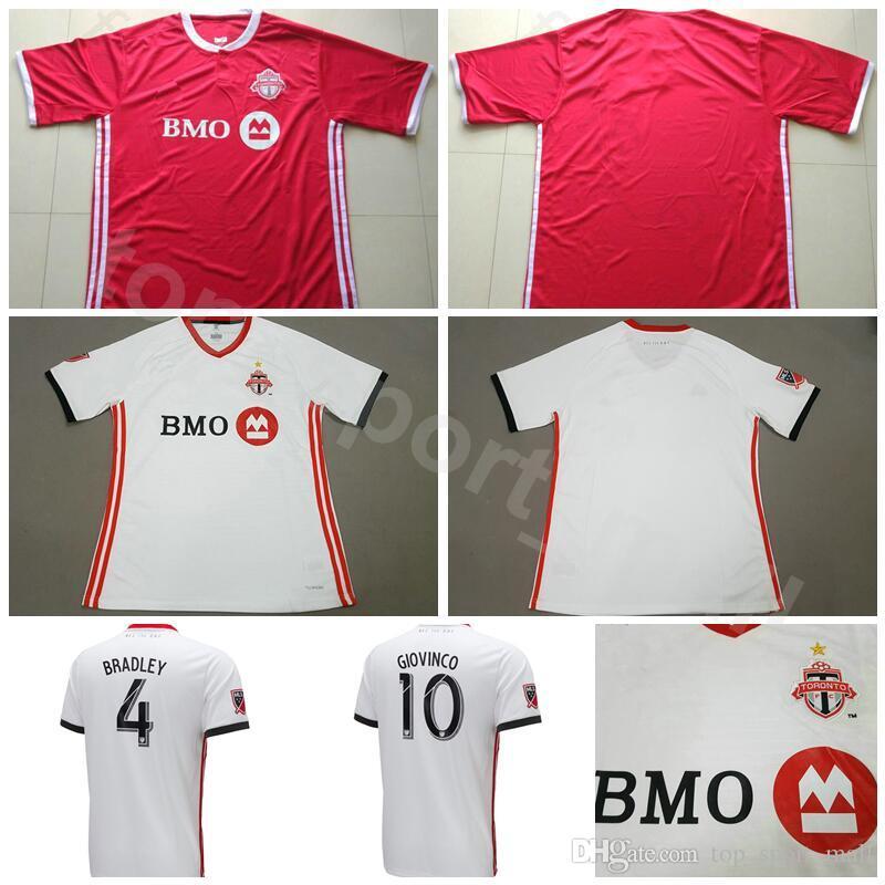 Compre Mls Toronto Fc Futebol Jersey Homens Equipe Vermelho Branco 2 Morrow  7 Vazquez 87 Ricketts 14 Chapman 1 Irwin Camisa De Futebol Kits De Goleiro  De ... ae9cf46c4edca