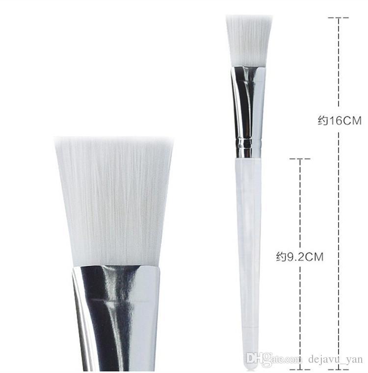 Boa Máscara Facial Kit Escova de Maquiagem Brushes Olhos Rosto Cuidados Com A Pele Máscaras Aplicador Cosméticos Para Casa DIY Facial Máscara de Olho Usar Ferramentas Claro lidar com