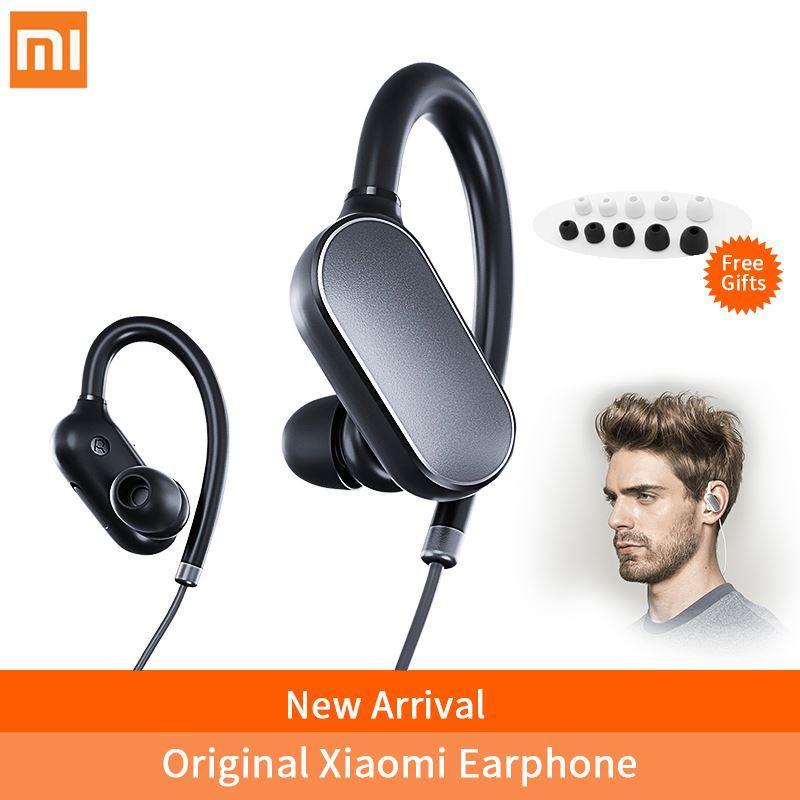 68ea16bf572 Xiaomi Mi Sport Bluetooth Earphone With Microphone Wireless Bluetooth 4.1  Music Sport Earbuds Waterproof Sweatproof Headphones Best Running Headphones  ...