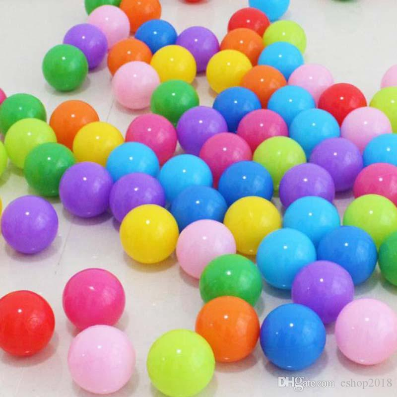 5cm thick eco-friendly marine ball baby bath ball children outdoor toy ball wave balls multicolor