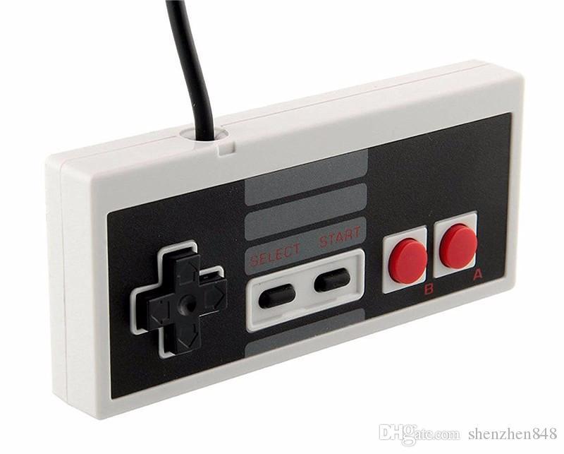 Nostalgischer Griff Neu Kommen Sie klassisches Spiel USB-Prüfer Gamepad Spiel NES Windows PC C-JYP an