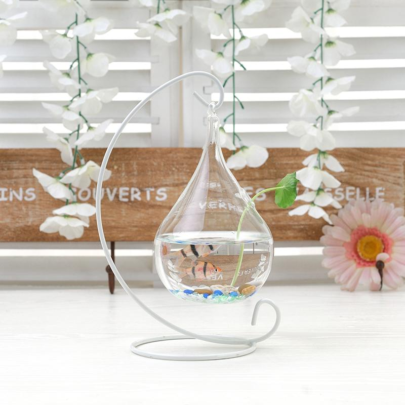 Transparent Glass Vase Creative Home Furnishing Decorations Hanging