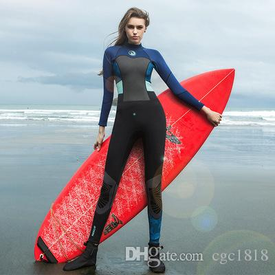 71f36f2ac2 1.5mm slim diving suit floating wetsuit outdoor surfing swimming female
