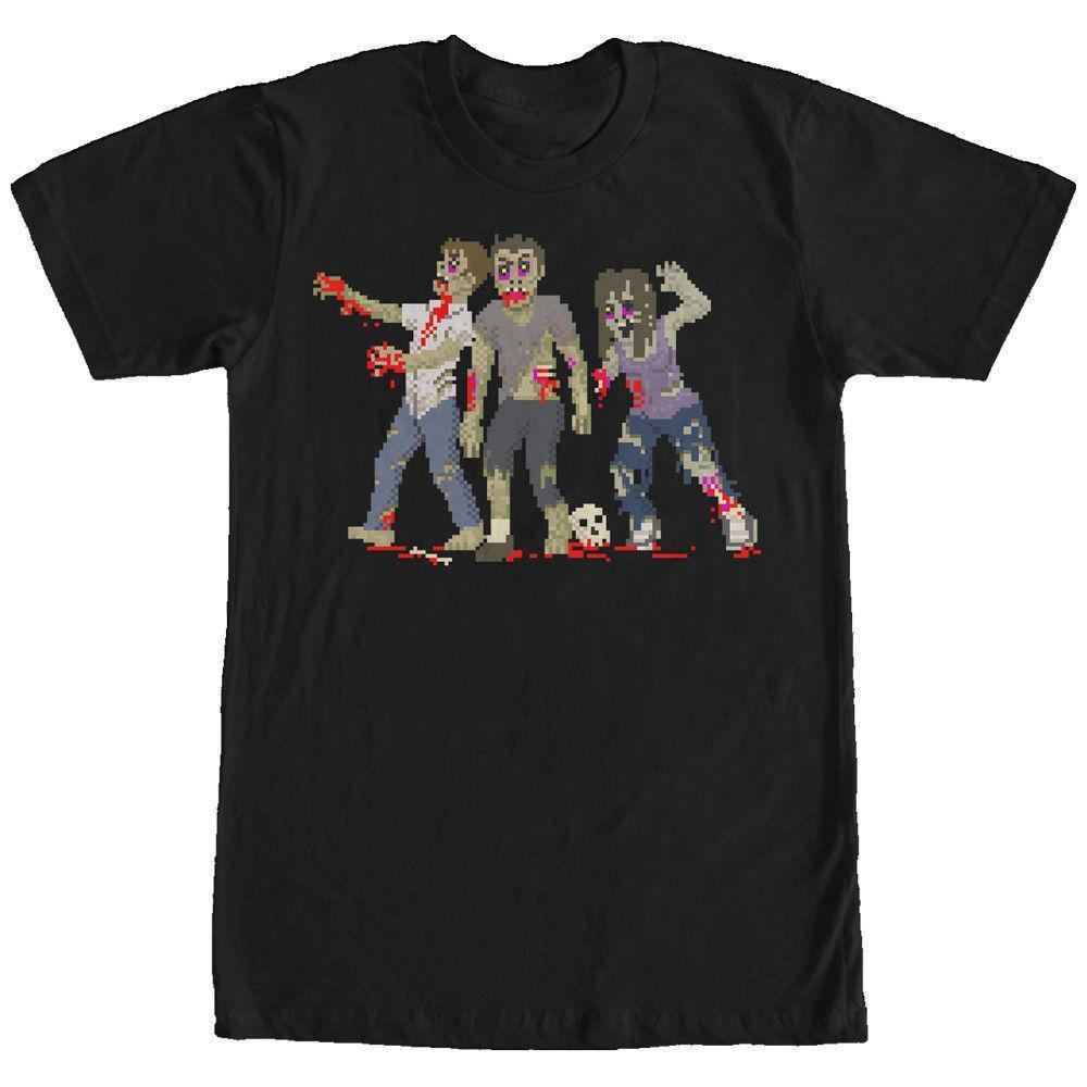 f5aa51843 Lost Gods Halloween Pixelated Zombie Attack Mens Graphic Custom T Shirts  Funny Cool Design Your Own Customized Cool Tee Funny Graphic T Shirts From  Lijian03 ...