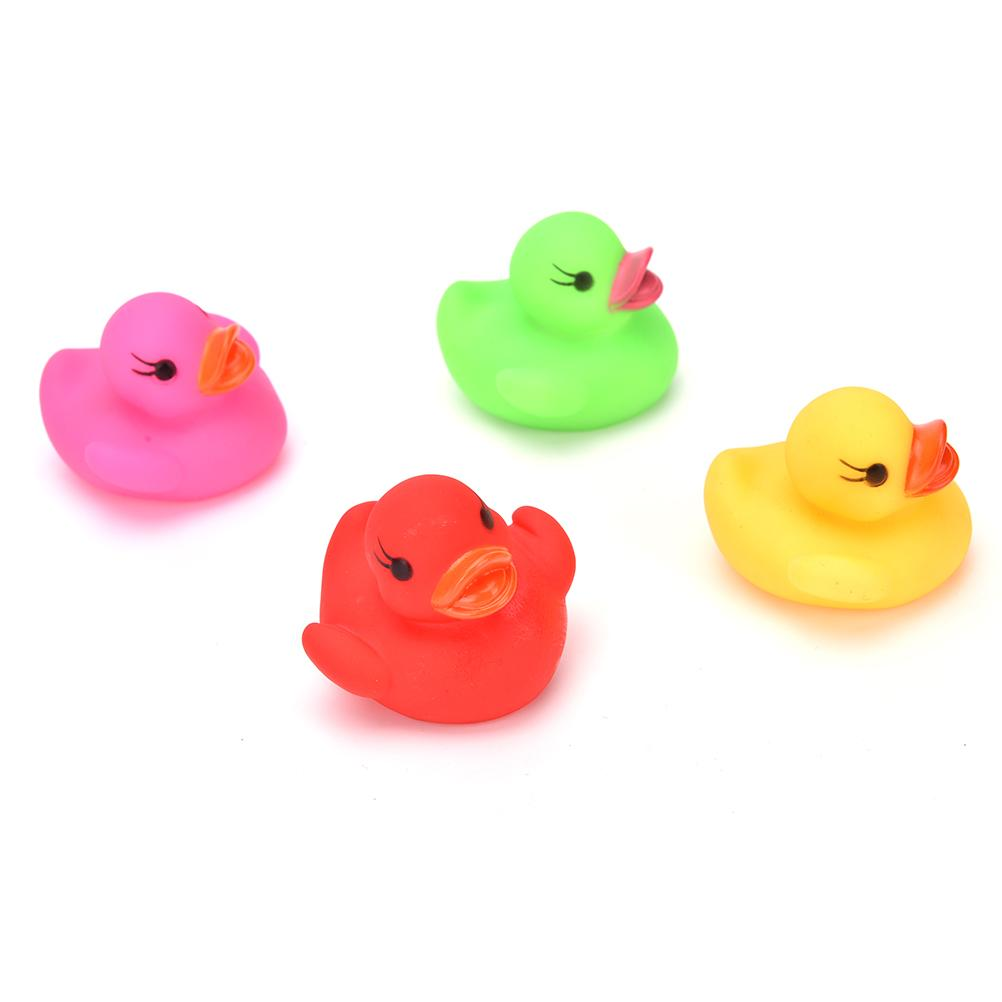 2018 Ztoyl Cute Duck Shape Swiming Water Toys Baby Bath Toy Colorful ...