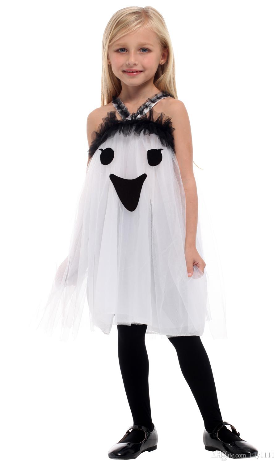 Shanghai Story Girls Halloween Ghost Scary Costumes Hell Devil