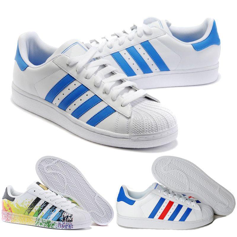 best loved e9499 fff22 Acquista 2018 New Originals Adidas Superstars Scarpa Black White Gold  Hologram Junior Superstars 80s Pride Sneakers Super Star Cheap Donna Uomo  Scarpe Da ...