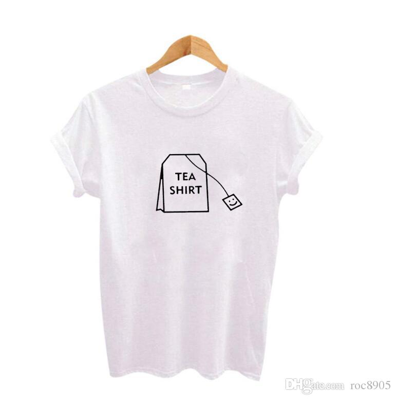 Humor Tea Shirt Graphic tees Women Clothing 2017 Summer Funny t shirts Ladies T-shirt