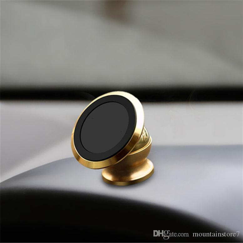 Hot Universal Magnetic Car Mount Kit Sticky Stand Holder For Iphone X 8 7 6 6s Plus Samsung