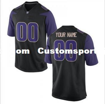 2018 Cheap Custom Washington Huskies Black Men S College Football Jersey  Customized Any Name Number Stitched Jersey Xs 5xl From Customsportsjersey 280a03558
