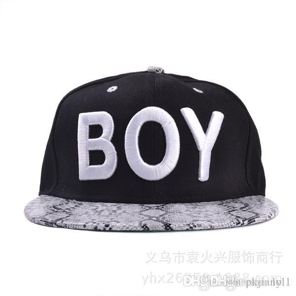 7bc0a676a762e The New South Korean Baseball Cap Hat Letters BOY Snakeskin Pattern Spring  Xiaqiu Ping Brimmed Hat Hip Hop Hat Store Ny Cap From Lol1, $153.95   DHgate.Com