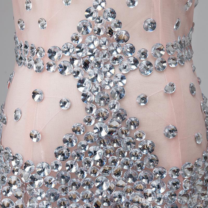 페르시 Tulle 머메이드 이브닝 드레스 2018 새로운 V 목 섹시 댄스 파티 드레스 우아한 롱 파티 드레스