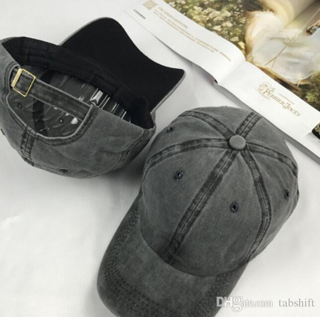 2bd5b49ae061a5 Fashionable Casual Hat Solid Distressed Vintage Cotton Polo Style ...