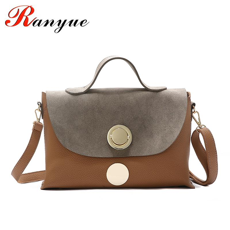 71df438977 RANYUE Shoulder Bag Famous Brand Women Bag Handbags High Quality Designer Pu  Leather Patchwork Sequined Large Casual Tote Luxury Handbags Leather Handbag  ...