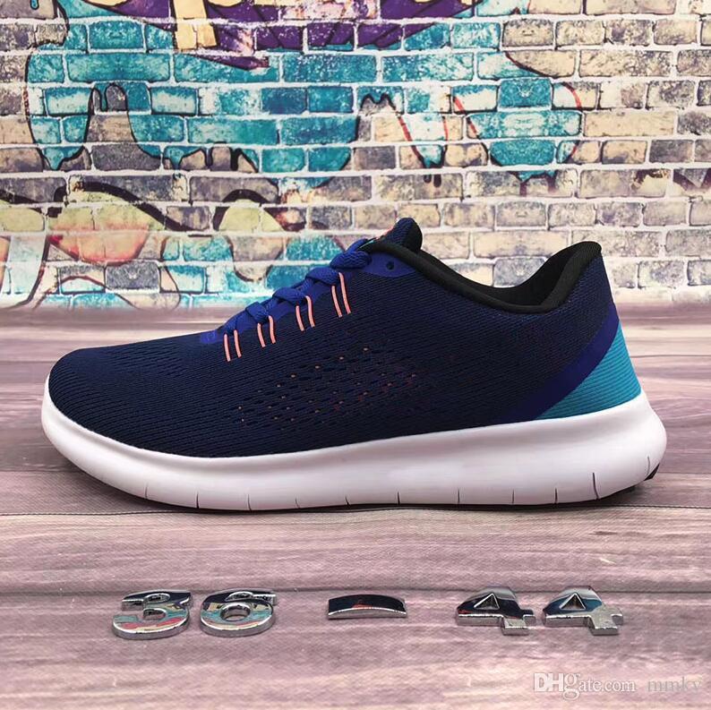 quality design 0f8d3 ce277 Compre 2018 Nike Flyknit Free Run 2.0 3.0 4.0 5.0 Free Rn De La Marca  Hombres Mujeres Free Run 5.0 V Zapatos Corrientes Zapatos De La Buena  Calidad Lace Up ...
