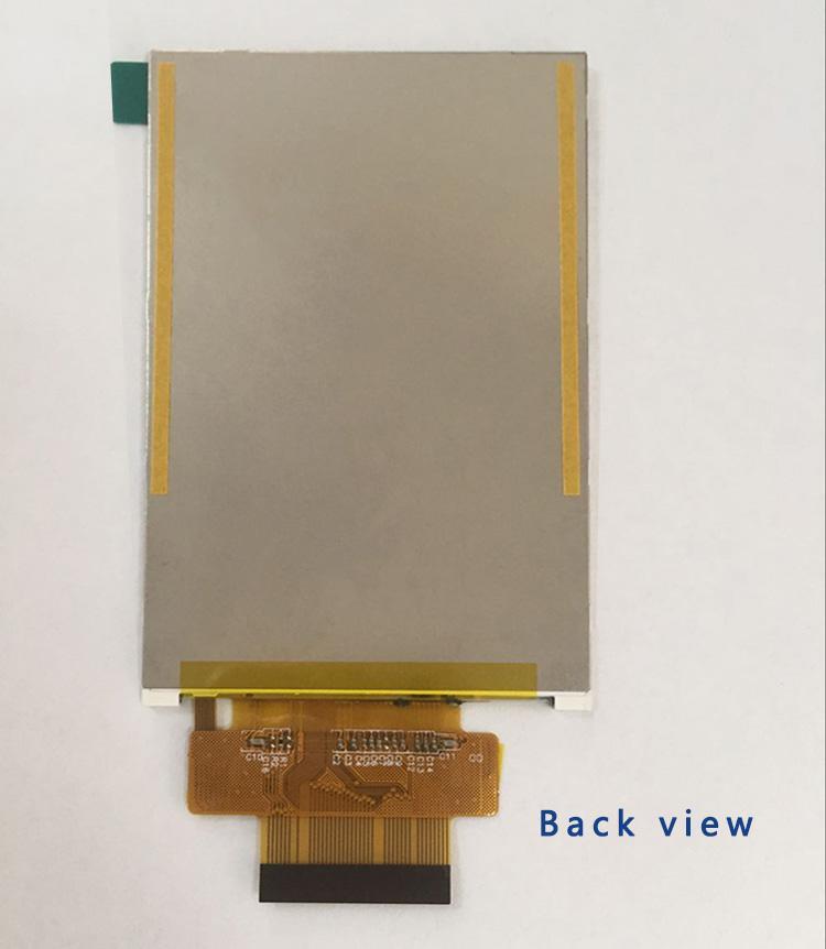 3.5 inç 320 * 480 12 O'clock TFT LCD ekran MCU arayüz ekran ile shenzhen amelin panel imalatı