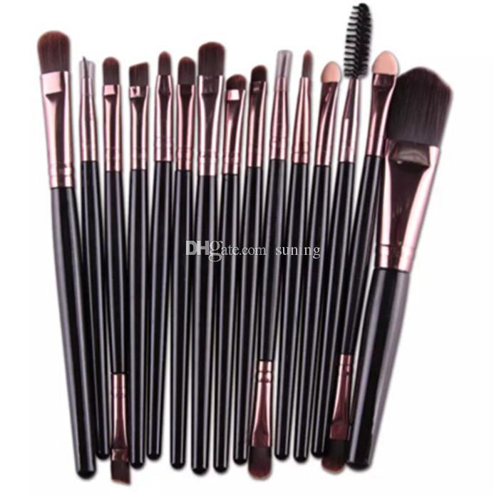 Hot sell Professional Make up Brushes Set Foundation Blusher Powder Eyeshadow Blending Eyebrow Makeup Brushes
