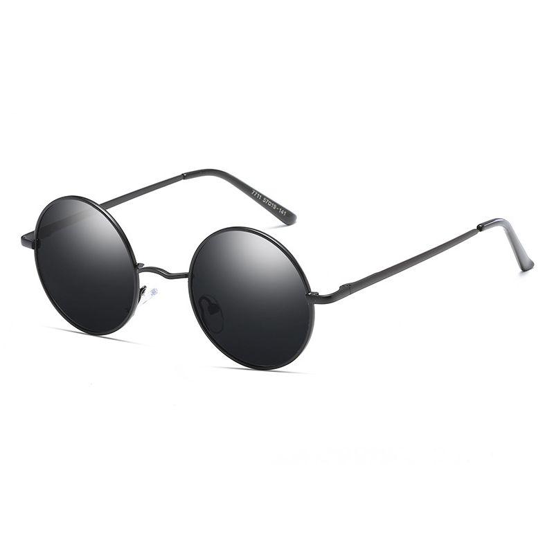 ae2ff4b803 Compre 2018 Ray Brand Designer Classic Polarized Driving Round Gafas De Sol  Hombres Retro John Lennon Gafas Mujeres Metal Moda Gafas A $10.81 Del  Melontwo ...